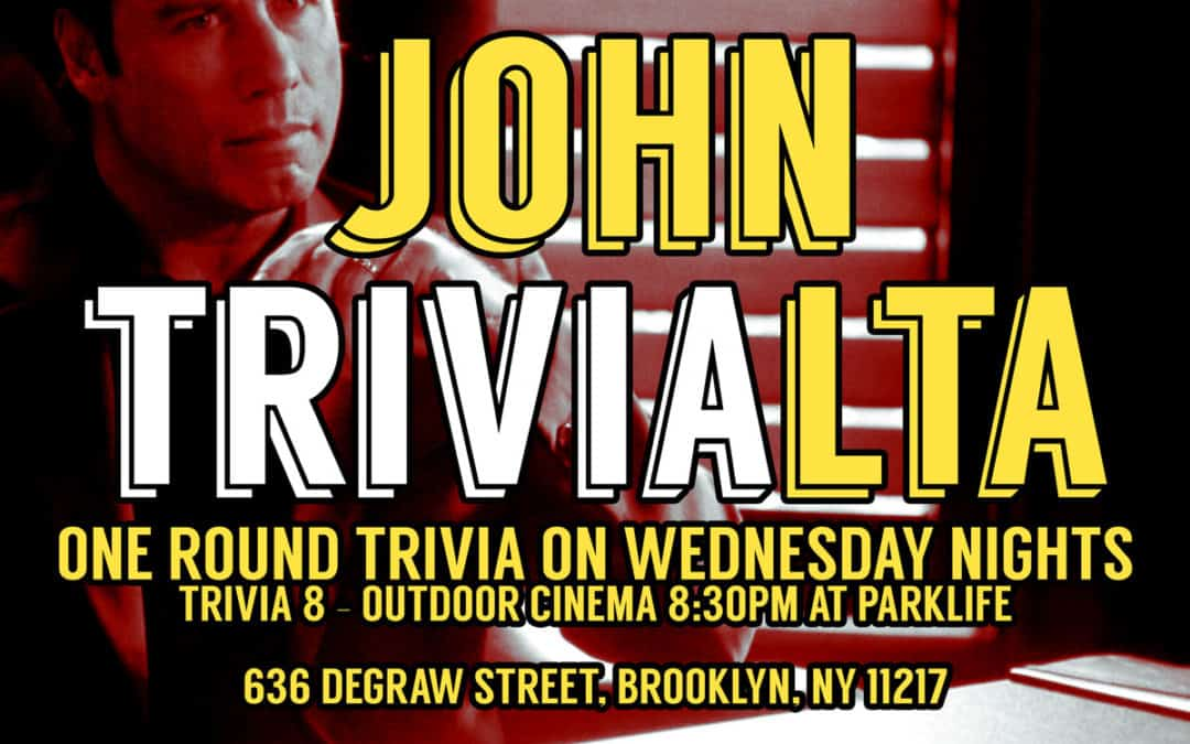 John Trivialta: Movie Trivia presented by The Skint & The Briefly