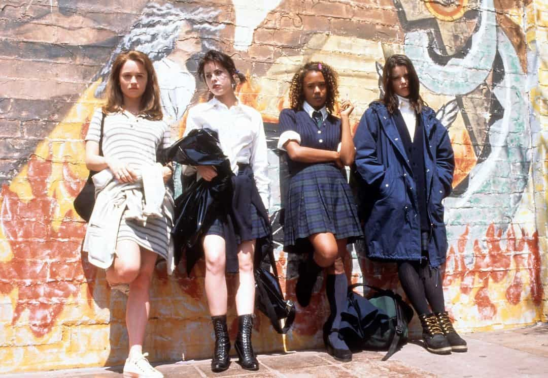 Four Main Characters promo image from The Craft