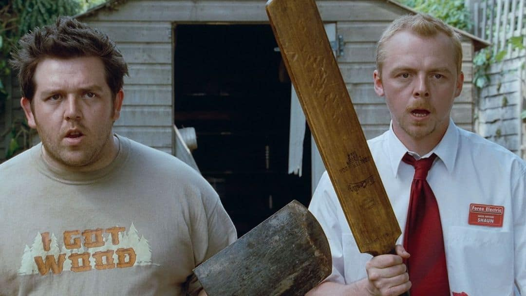 Still from the movie Shaun of the Dead