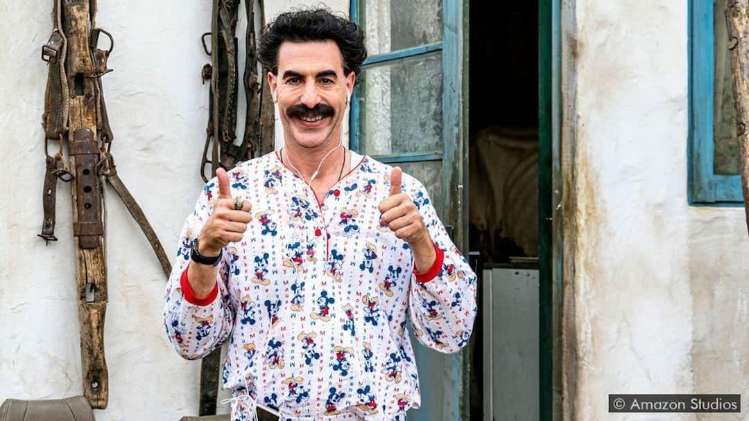 Sasha Baron Cohen in Borat 2