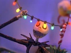 Jack Skellington in The Nightmare Before Christmas