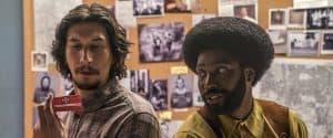 Still from Blackkklansman movie