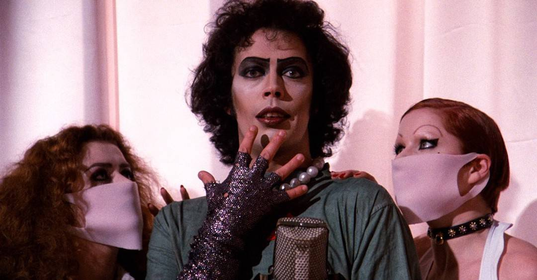Tim Curry in Rocky Horror Picture Show
