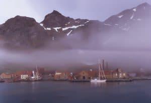 Image of port at Grytviken, Antarctica